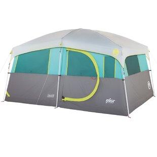Vargo Coleman Tenaya Lake Lighted Cabin 8 Person Tent