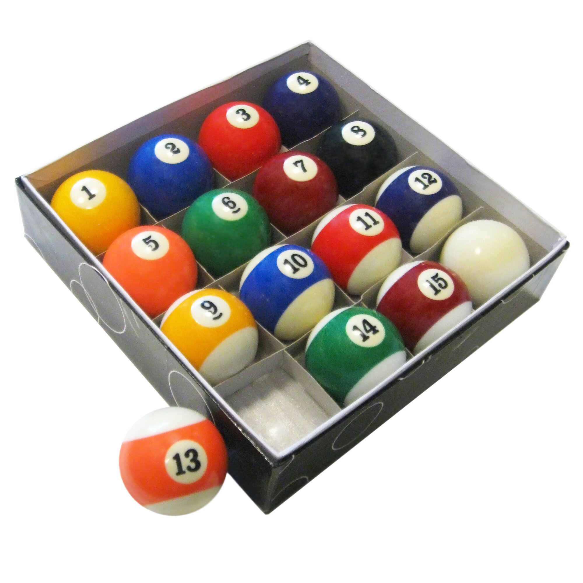Ordinaire Hathaway Games Pool Table Regulation Billiard Ball Set U0026 Reviews | Wayfair