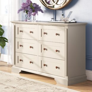 Mechling 6 Drawer Double Dresser