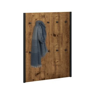 Hunter Panel Wall Mounted Coat Rack By Williston Forge