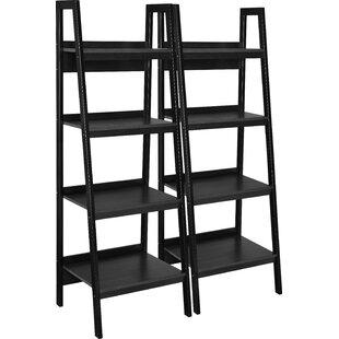 Rupert Ladder Bookcase (Set Of 2) By Blue Elephant