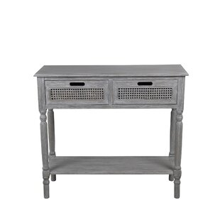 Highland Dunes Rensfield 2 Drawer Console Table