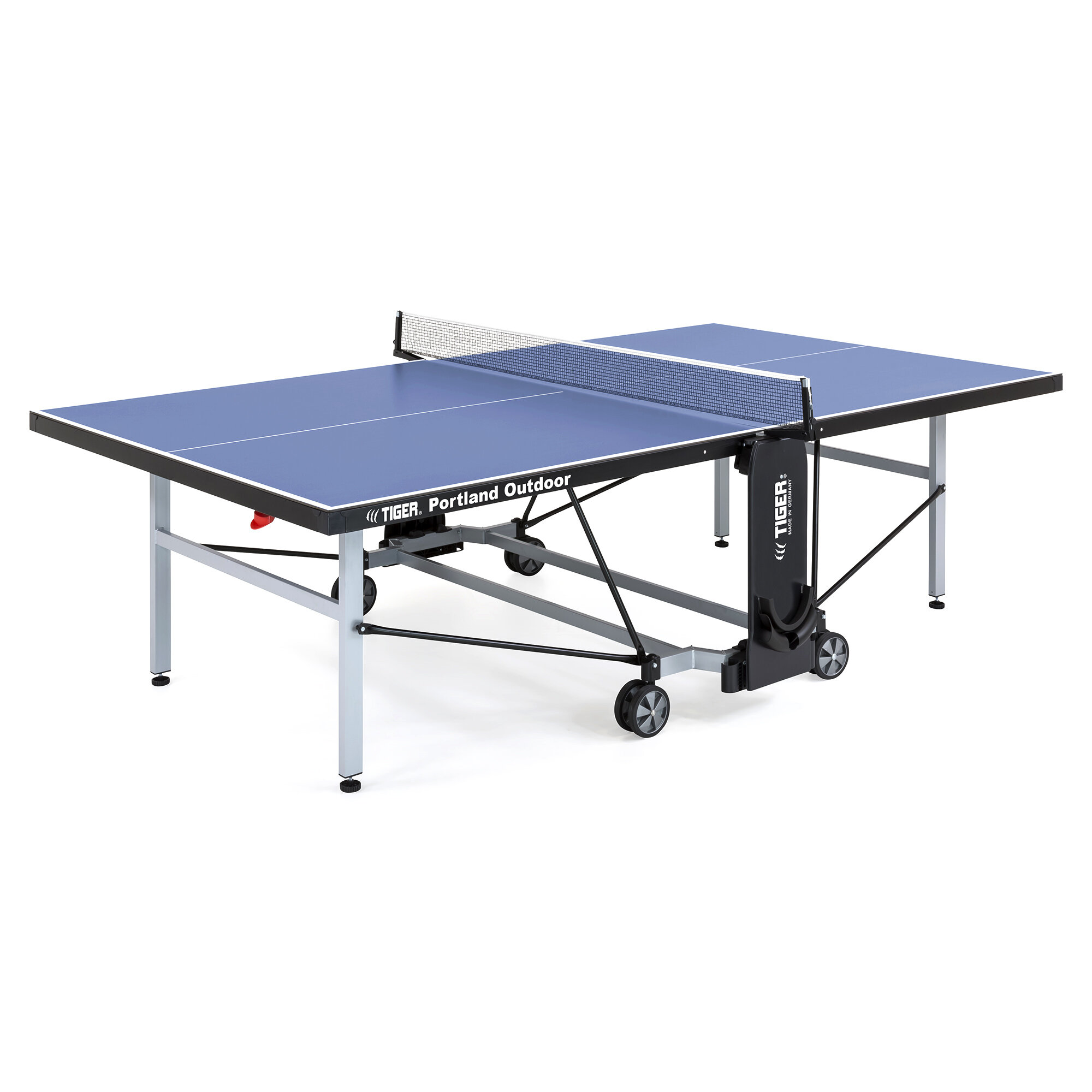 Portland Ping Pong Playback Outdoor Table Tennis Table