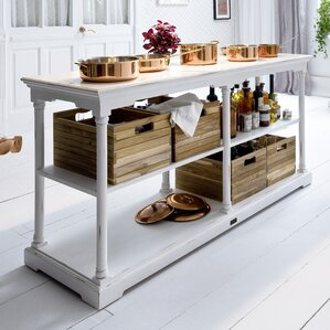 Kitchen Console Table 70 inch console table | wayfair