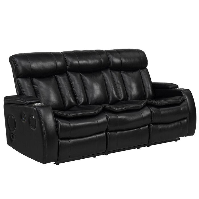 Wysocki Smart Tech Bluetooth Power Reclining Sofa