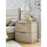 Milano 2 - Drawer Nightstand in Sandstone by Rachael Ray Home