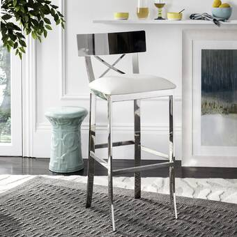 Gracie Oaks Coralie Solid Wood 24 Counter Stool Reviews Wayfair