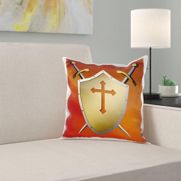 cognac pillow