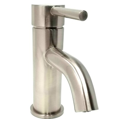 Euro Single Hole Bathroom Faucet with Drain Assembly S-Series