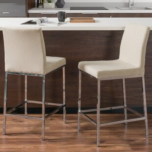 Onya Bar Stool (Set of 2) Orren Ellis