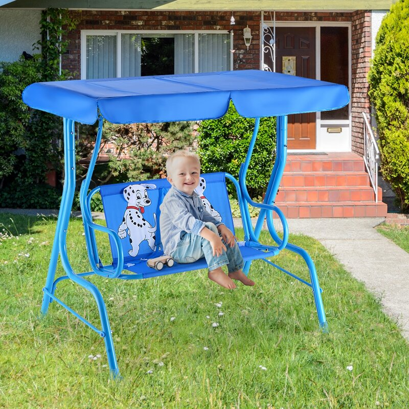 Zoomie Kids Wiesner Porch Swing
