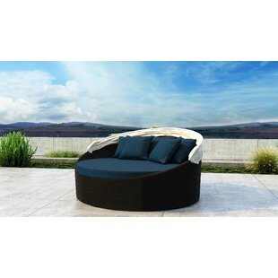 Orren Ellis Gillham Patio Daybed with Sunbrella Cushion