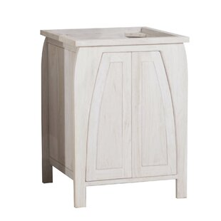 Tranquility Solid Teak 24 Single Bathroom Vanity Base