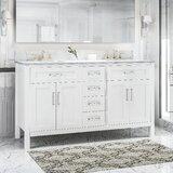 Tana 61 Double Bathroom Vanity Set by Highland Dunes