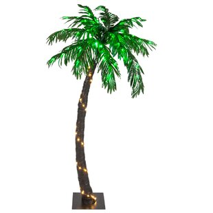 Bayou Breeze Curved LED Palm Tree String Lighting