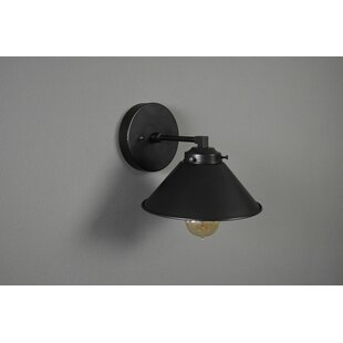 Raeann 1-Light Armed Sconce by Gracie Oaks