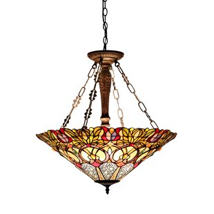 Astoria Grand Bellock 3-Light Bowl Pendant