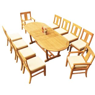 Tell Us Rosecliff Heights Mashburn 5 Piece Teak Dining Set Best Selling
