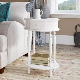 Reviews Mikel End Table with Storage ByOphelia & Co.