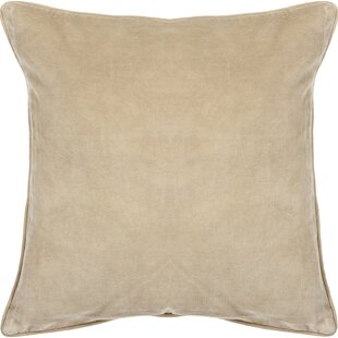 Eleanor Textured Contemporary Cotton Throw Pillow