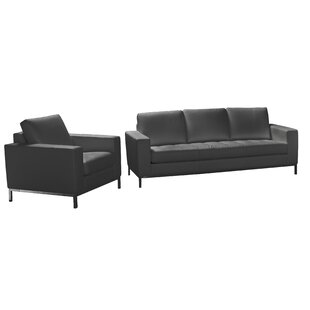Best Reviews Witney 2 Piece Leather Living Room Set by Orren Ellis Reviews (2019) & Buyer's Guide
