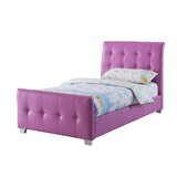 Tato Upholstered Sleigh Bed by Wrought Studio™