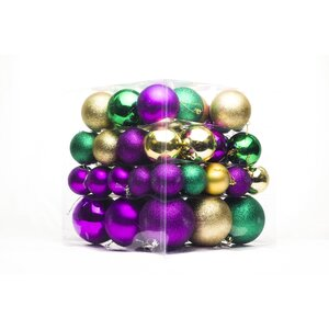 62 Piece Ball Ornament Set