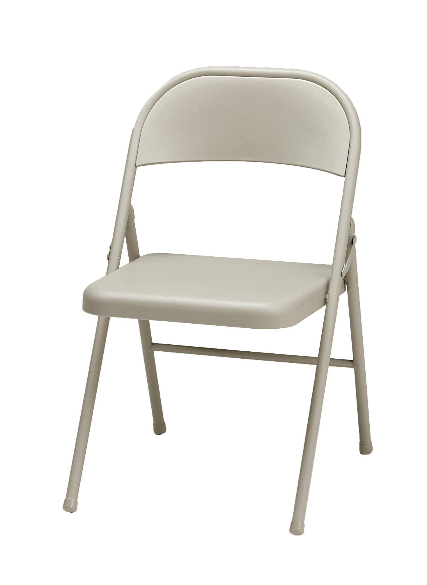 Awe Inspiring Sudden Comfort Metal Folding Chair Pabps2019 Chair Design Images Pabps2019Com