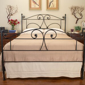 Hawthorne Panel Bed by Benicia Foundry..