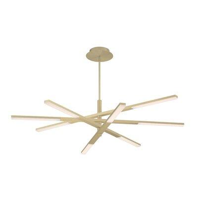Modern Forms Stacked Light Led Sputnik Modern Linear Chandelier Chandeliers