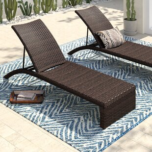 Acrion Reclining Chaise Lounge (Set of 2) by Mistana