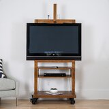 Solid Wood TV Stand for TVs up to 55 by Williston Forge