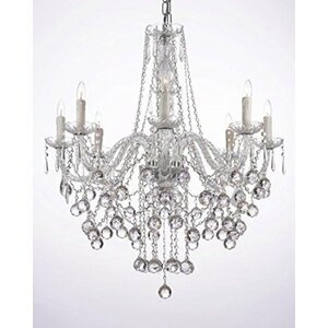 Buy Versailles 8-Light Crystal Chandelier!