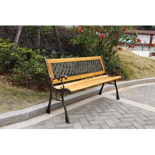 Sundberg Wooden Park Bench