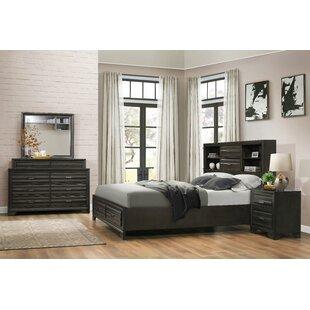 Blasco Wood 4 Piece Bedroom Set