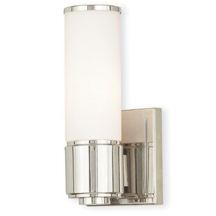 Allegra 1-Light Flush Mount by Ivy Bronx