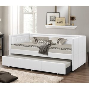 Baxton Studio Daybed with Trundle by W..