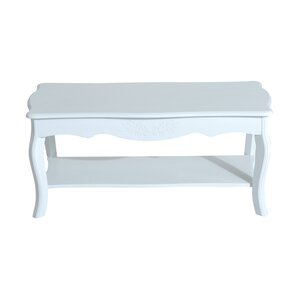 Sergeon Cottage Home Wood Coffee Table with ..