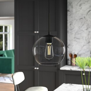 Yearwood 1-Light Globe Pendant by Mercury Row