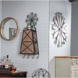 Decosta Windmill Beverage Bar Cabinet by Gracie Oaks