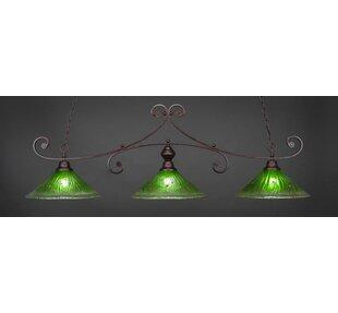 Fleur De Lis Living Babin 3-Light Pool Table Lights Pendant