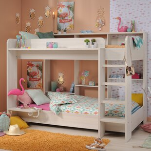 Find the perfect Melody Twin Over Twin Bunk Bed by Harriet Bee Reviews (2019) & Buyer's Guide