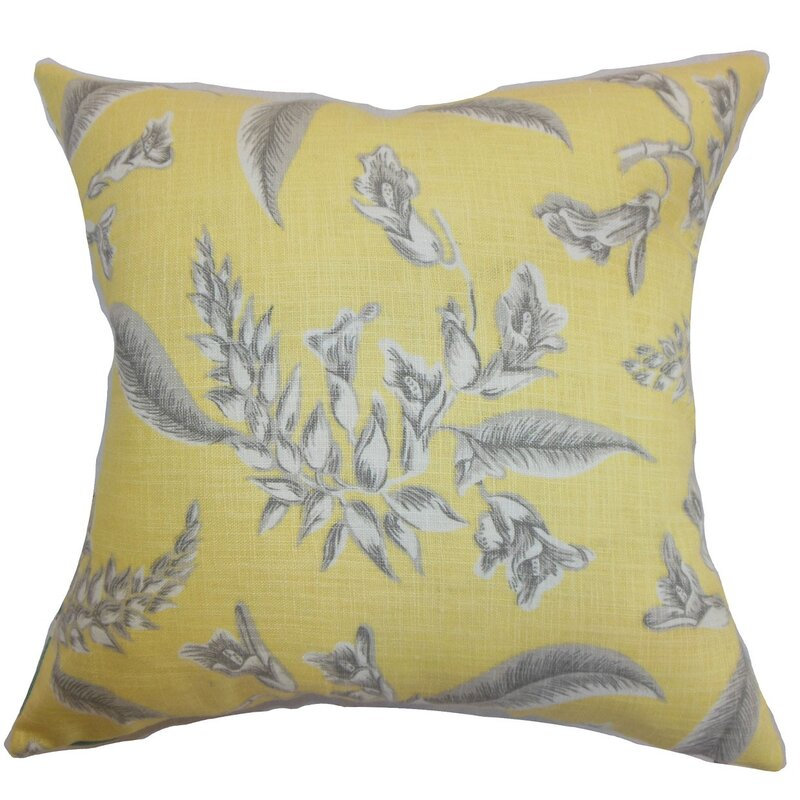 Kaitaia Floral Throw Pillow
