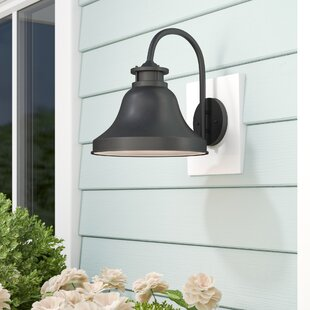 Carpenter 1-Light Outdoor Barn Light by Beachcrest Home 2019 Online