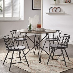 Charleigh 5 Piece Dining Set Gracie Oaks