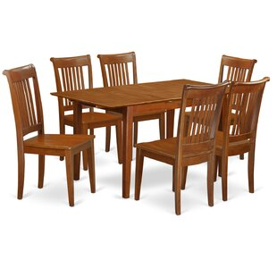 Katie 7 Piece Extendable Dining Set