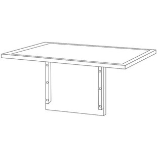 OSP Furniture Mendocino Desk Top