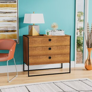 Read Reviews Deshawn 3 Drawer Chest by Langley Street