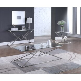 Jhoana 3 Piece Coffee Table Set Orren Ellis
