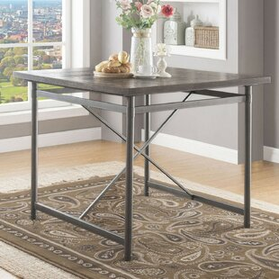 Buenrostro Metal Frame Dining Table by Williston Forge